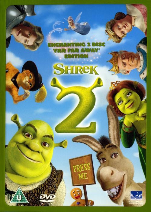 Dvd Shrek 2 Ebay