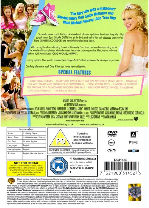 Details about [DVD] A Cinderella Story